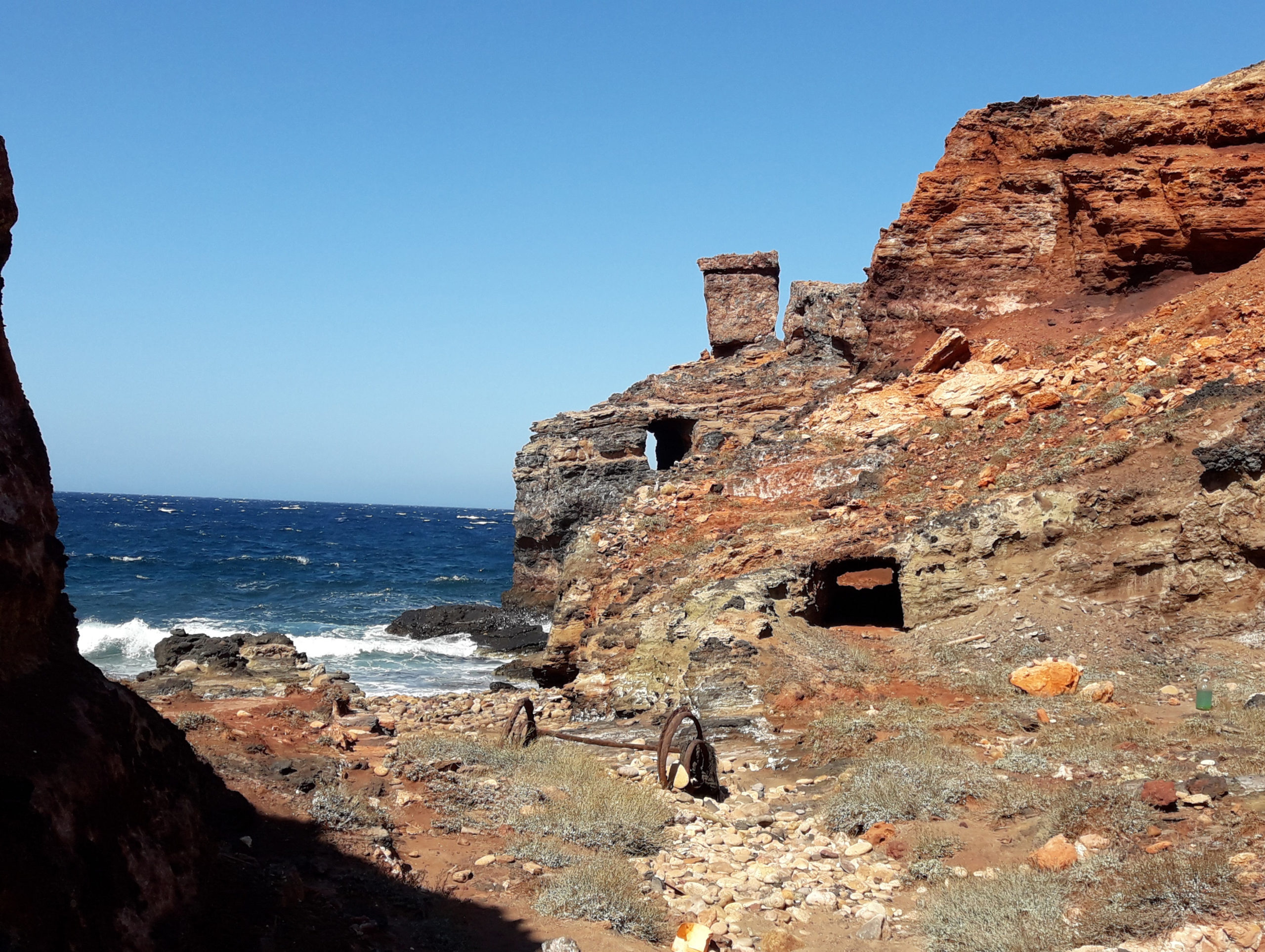 Cape Vani: A Colorful Old Mine